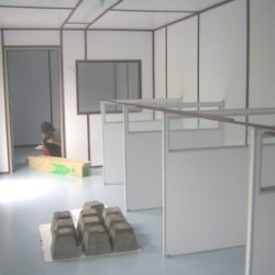 Low High Partition Office